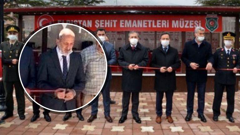 Ali Öztunç, Başkan Gürbüz'ün açılışını yaptığı müzeyi 3 ay sonra tekrar açtı