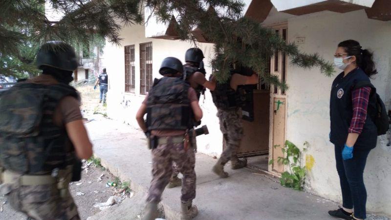 Elbistan'da özel harekat destekli uyuşturucu operasyonu: 11 gözaltı