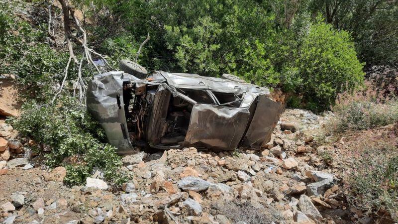 Ekinözü'nde otomobil uçuruma yuvarlandı: 3 ölü 1 yaralı