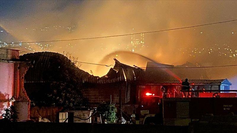 Kahramanmaraş'ta 5 tekstil fabrikası yandı!