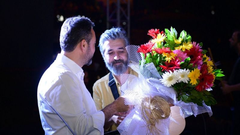Ali Kınık, Elbistan Festivali'nde hayranları ile buluştu