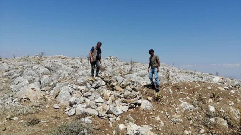 Elbistan'da keçi avlamak için kurulan evsinler yok edildi!