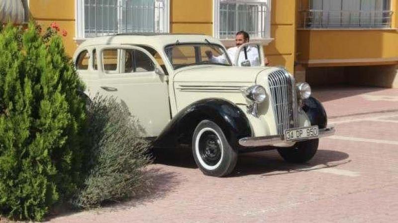 1936 model arabasına gelen 800 bin liralık teklifi geri çevirdi