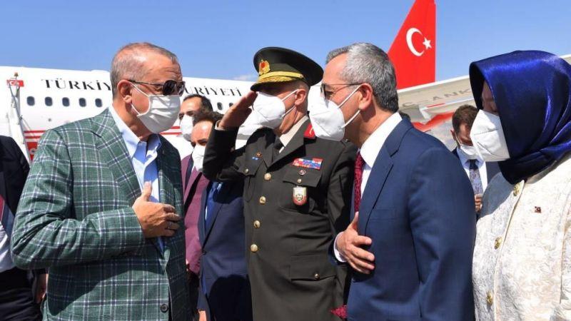Cumhurbaşkanı Erdoğan Kahramanmaraş'ta