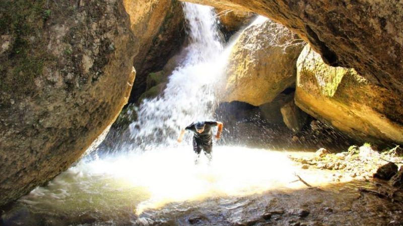 Göksun'daki Zopzop Mağarası doğaseverlerin uğrak mekanı oldu
