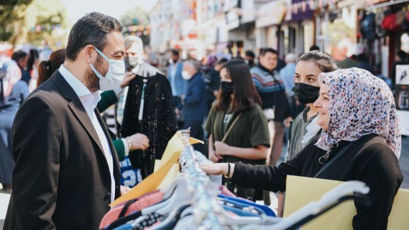 Elbistan'da alışveriş bayramının üçüncüsü düzenlendi