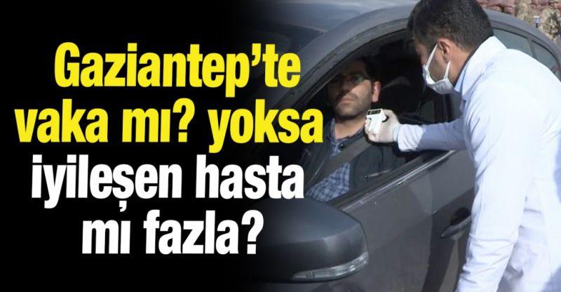 Gaziantep'te vaka mı? yoksa iyileşen hasta mı fazla?