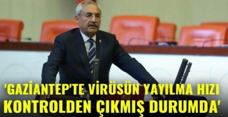 Kaplan: Gaziantep'te virüsün yayılma hızı kontrolden çıkmış durumda