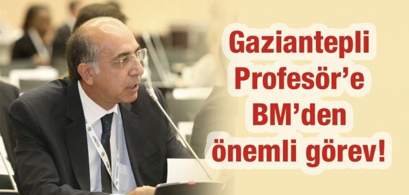 Gaziantepli Profesör'e Birleşmiş Milletler'den önemli görev!