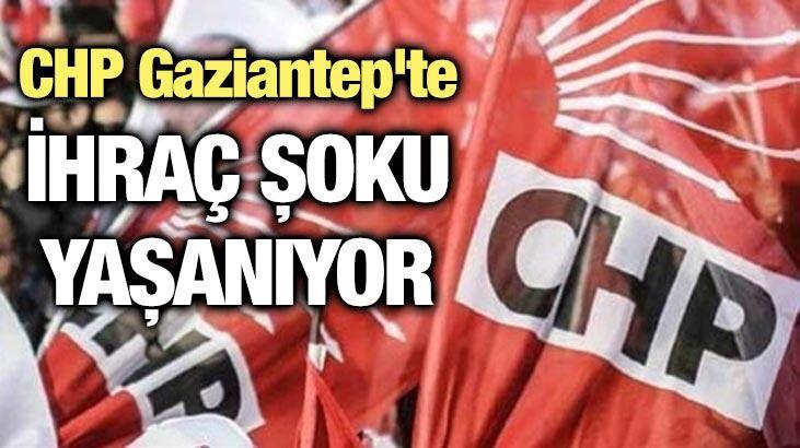 CHP Gaziantep'te ihraç şoku
