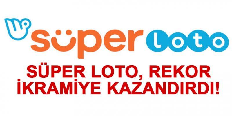 Süper Loto, rekor ikramiye kazandırdı! Süper Loto 1 kişiye, 32 milyon 364 bin 752 TL büyük ikramiye kazandırdı
