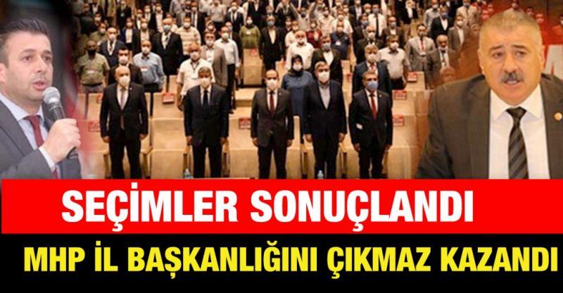 MHP il başkanlığını Çıkmaz kazandı
