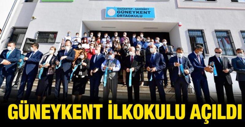 Güneykent İlkokulu eğitim öğretime açıldı