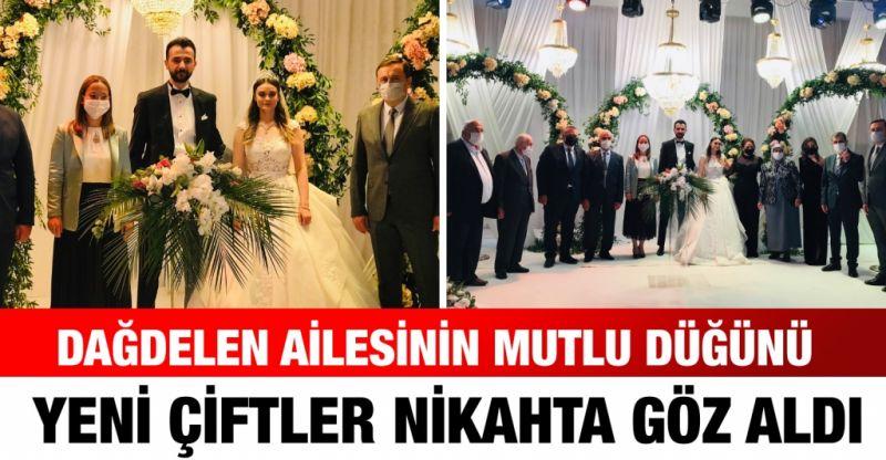 Dağdelen ailesinin mutlu düğünü