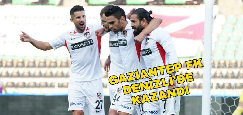 GAZİANTEP FK, DENİZLİ'DE KAZANDI 0-1