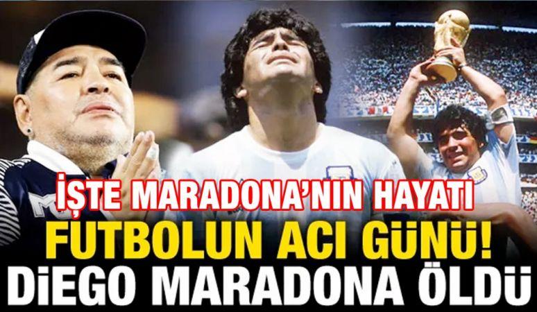 Diego Maradona hayatını kaybetti (Maradona kimdir?)...İşte Marodana'nın Hayat Hikayesi