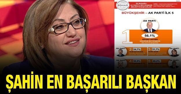 Gaziantep Büyükşehir Belediye Başkanı Fatma Şahin En Başarılı Başkan