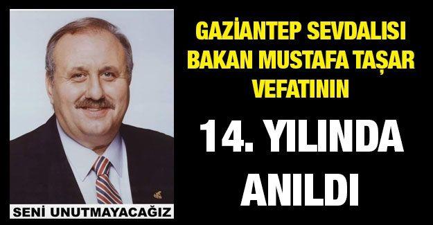 Gaziantep Sevdalısı Bakan Mustafa Taşar vefatının 14. yılında anıldı
