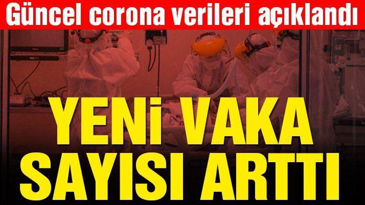 #SonDakika… Corona virüsü kaynaklı can kaybı ve yeni vaka sayısı açıklandı