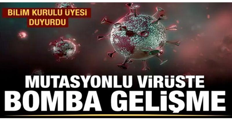 Mutasyonlu virüste ölüm daha az
