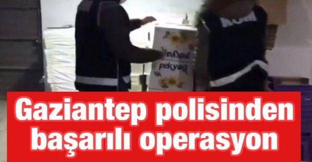 Gaziantep polisinden başarılı operasyon