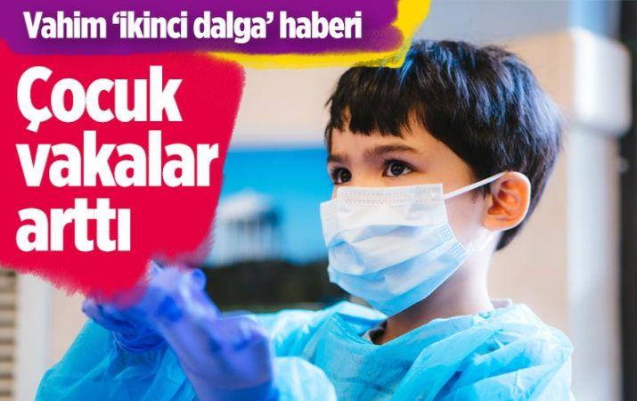 Pandemide ikinci dalgayla çocuk vakalar arttı! Yoğun bakıma kaldırılanlar oldu