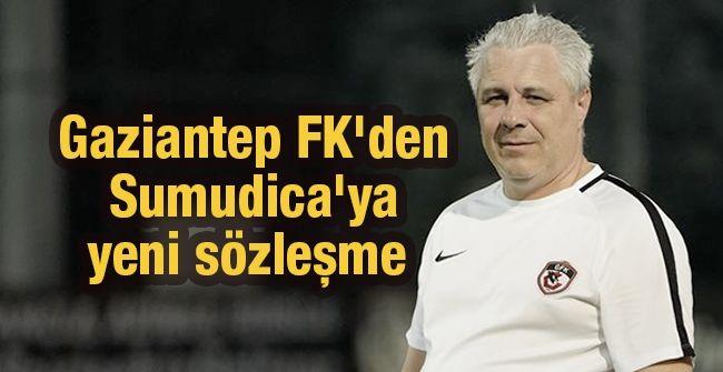 Son Dakika...Gaziantep Futbol Kulübü Yönetiminden Sumudica Açıklaması...Gaziantep FK'den Sumudica'ya yeni sözleşme... Sumudica isteye isteye sözleşmeyi kaptı...