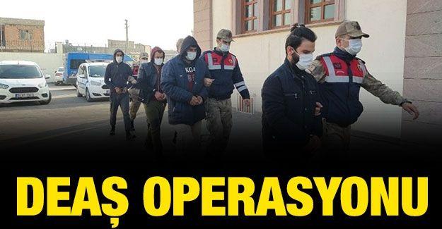 Gaziantep'te DEAŞ operasyonu: 3 tutuklama