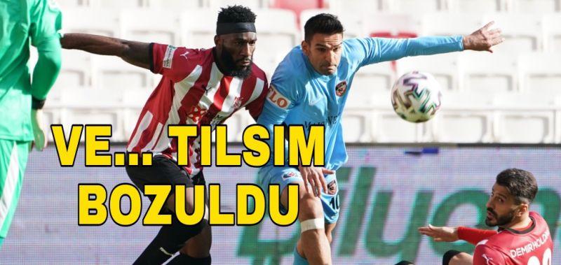 GAZİANTEP FK'DA TILSIM BOZULDU