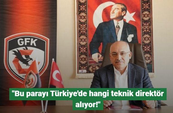 Gaziantep FK Başkanı Mehmet Büyükekşi'den,Marius Sumidica'ya Yanıt: