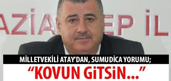 #SonDakika...#Gaziantep MHP Milletvekili Atay'dan, Sumudica yorumu;