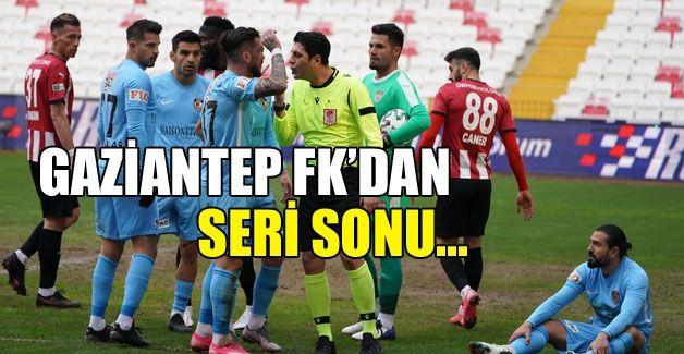 Gaziantep FK'dan seri sonu!