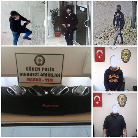 Gaziantep'te iş yeri, ev ve araçtan hırsızlık yapan 2 şüpheli yakalandı