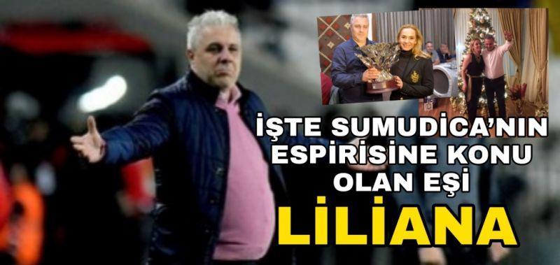 İşte Sumudica'nın esprisine konu olan eşi Liliana