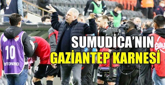 Sumudica'nın Gaziantep FK karnesi