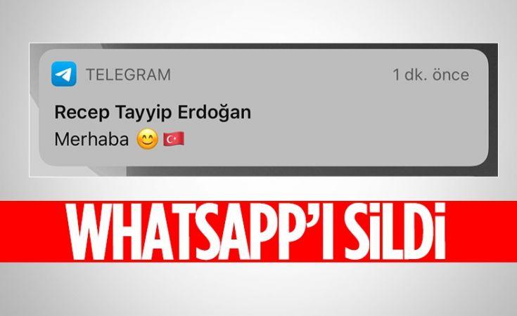 Cumhurbaşkanı Erdoğan BiP ve Telegram'da