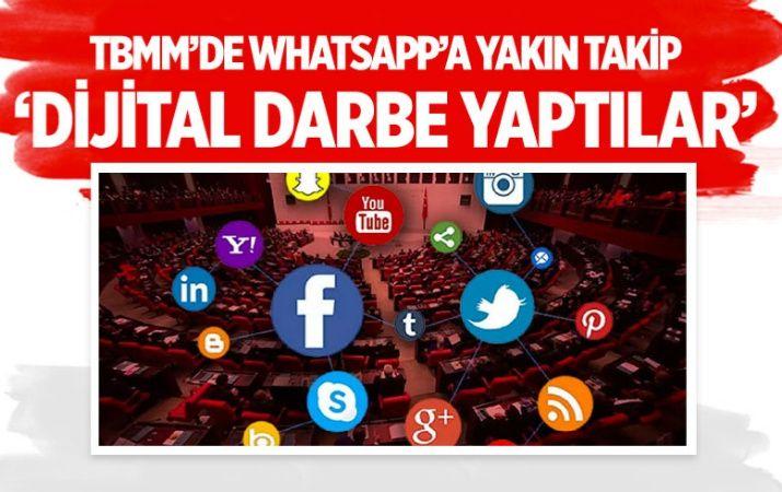 TBMM'den WhatsApp'a yakın takip! 'Dijital darbe yaptılar'