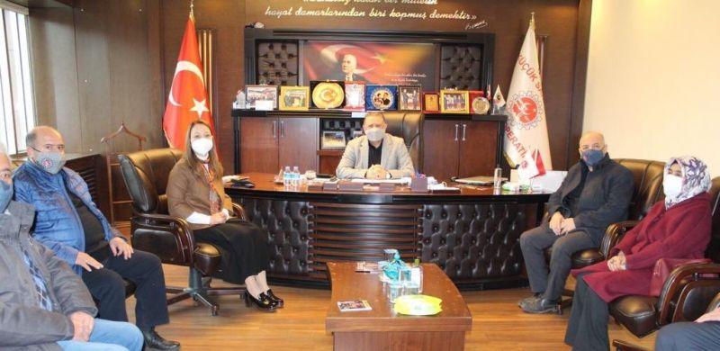 AK Parti Gaziantep Milletvekili Derya Bakbak'tan esnaf odalarıyla buluştu