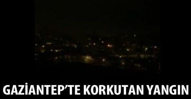 Gaziantep'te yangın korkuttu