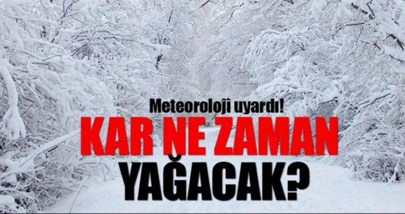 Gaziantep'te kar ne zaman yüzünü gösterecek?