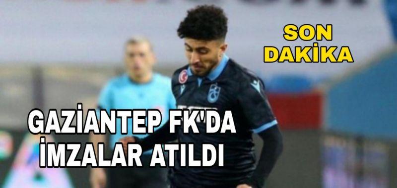 GAZİANTEP FK'DA İLK İMZA ATILDI