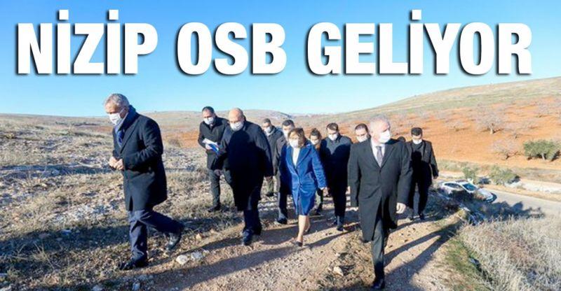 Nizip OSB yolda!