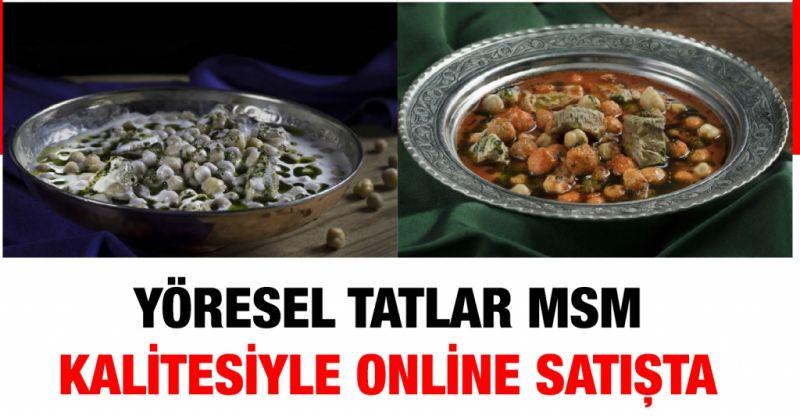 Yöresel tatlar msm kalitesiyle online satışta