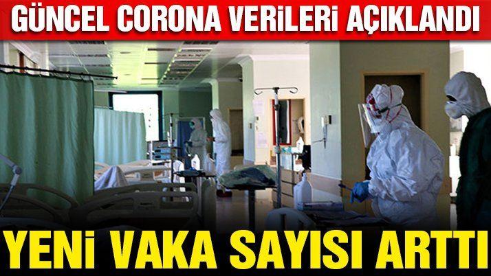Son dakika… Güncel corona virüsü verileri açıklandı! İşte 25 Ocak tablosu