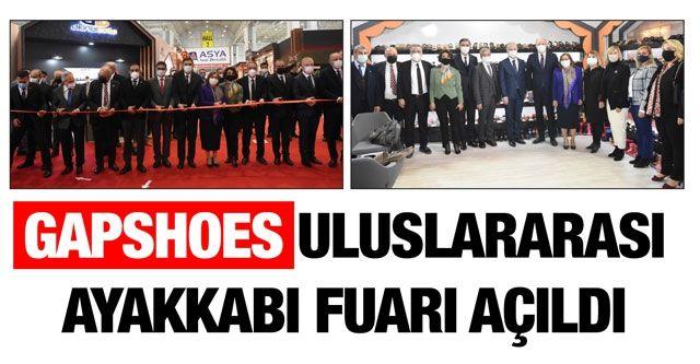 GAPSHOES uluslararası ayakkabı fuarı açıldı
