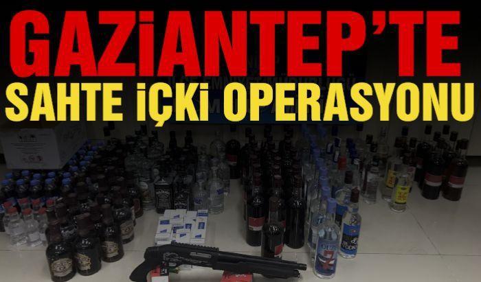 108 şişe kaçak alkol ele geçirildi