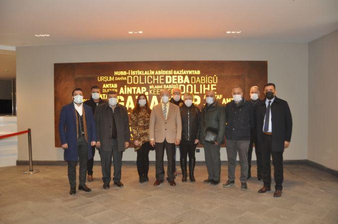 Gaziantep Yardım Vakfı Yöneticileri Panorama Müzesini ziyaret etti