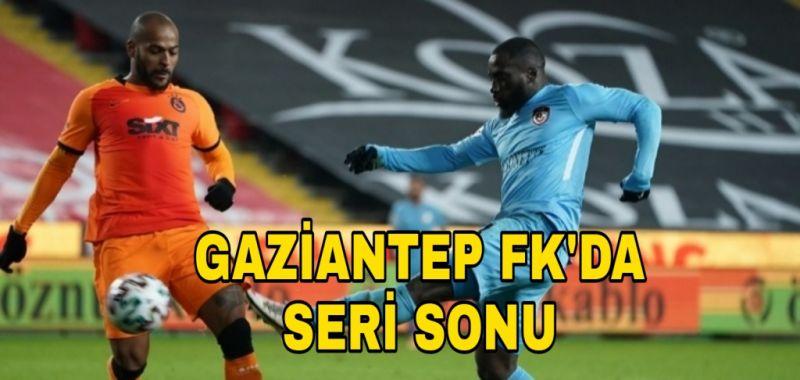 GAZİANTEP FK'DA SERİ SONU 1-2