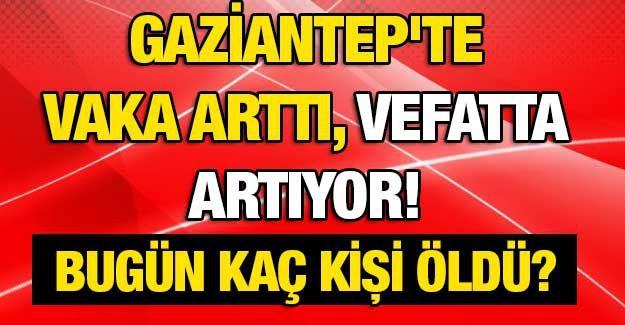 Son dakika... Gaziantep'te vaka arttı, vefatta artıyor! İşte Gaziantep'te günün defin listesi.. Bugün kaç kişi öldü?