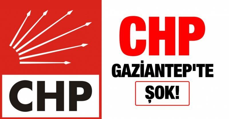 CHP Gaziantep'te şok!